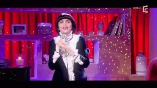 """Mireille Mathieu chante """"Colombe de Noel"""" - C à vous - 08/12/2015"""