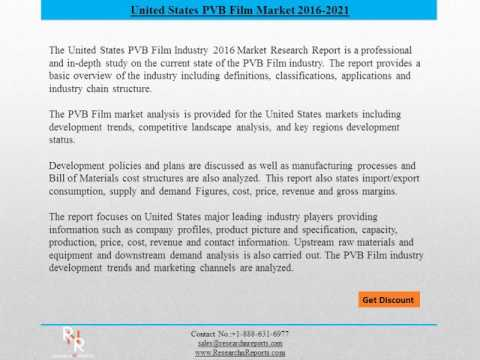 United States PVB Film Industry Market forecast- Research n Reports