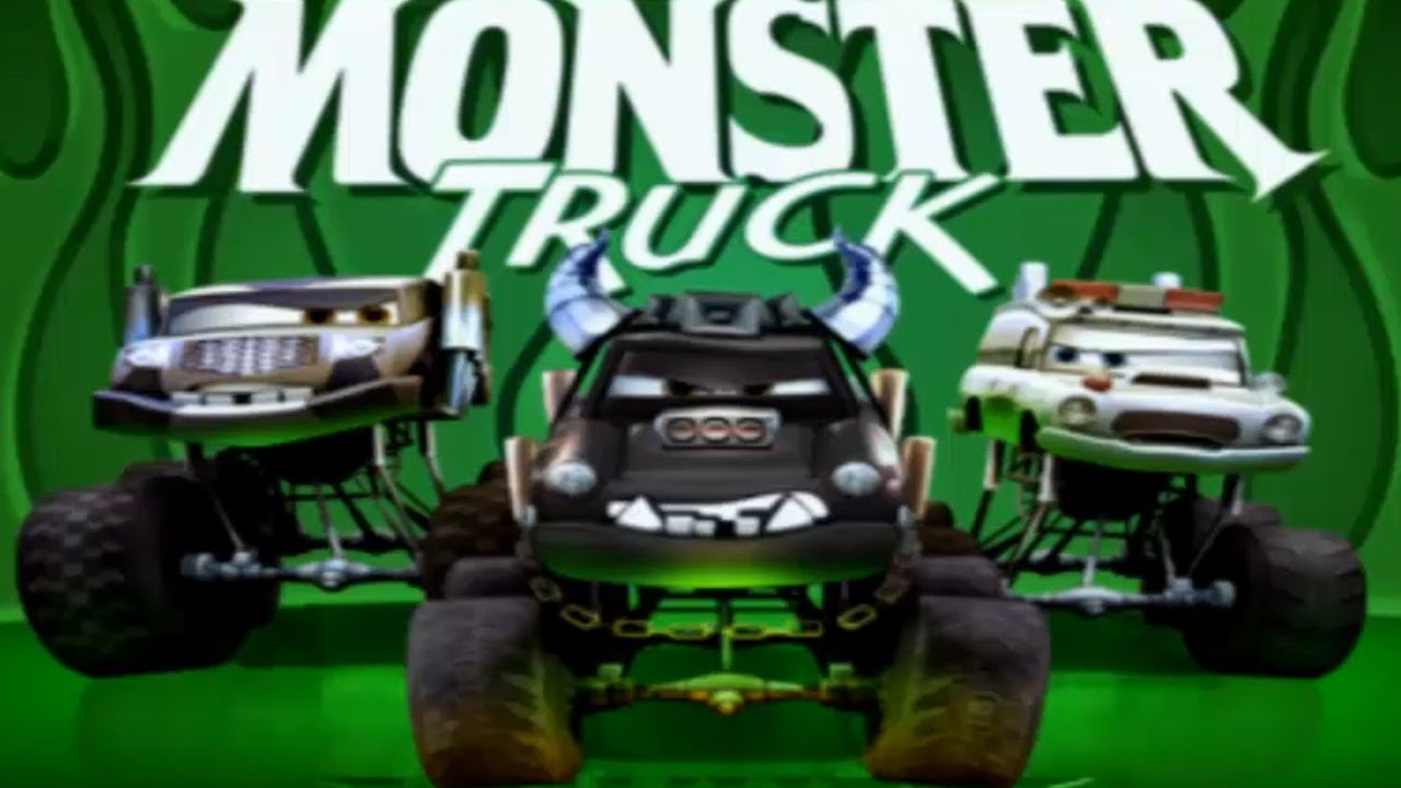 Cars Monster Truck Mayhem Disney Pixar Movie Game