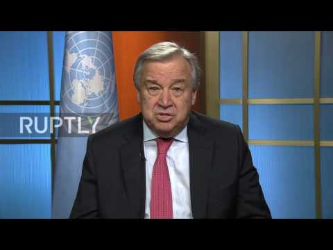 UN: New Secretary-General Guterres appeals for world peace