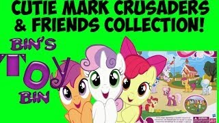 My Little Pony CUTIE MARK CRUSADERS & FRIENDS COLLECTION Review! by Bin