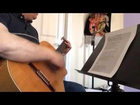 Faryade Zire Ab Guitar Lessonآموزش آکوردهای فریاد زیر آب