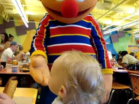 Baby Maddox At Sesame Place Breakfast With Elmo Big Bird