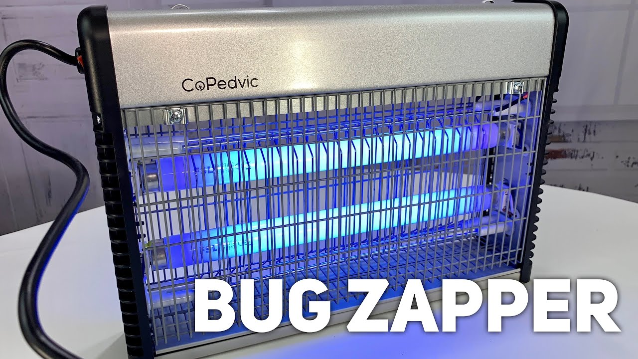 CoPedvic Bug Zapper Fly Trap Mosquito Killer Review