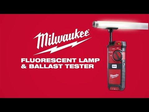 Milwaukee® Fluorescent Lamp and Ballast Tester 221020
