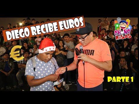 Diego Recibe Euros Del Chino Risas (PARTE 1)