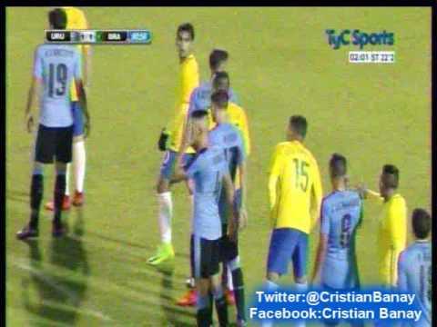 (Relato Emocionante) Uruguay 2 Brasil 1 (Relato Maximo Goñi) Sudamericano Sub 20 2017