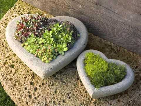 Garden Decor With Stones Stone Sculpture Garden Design YouTube