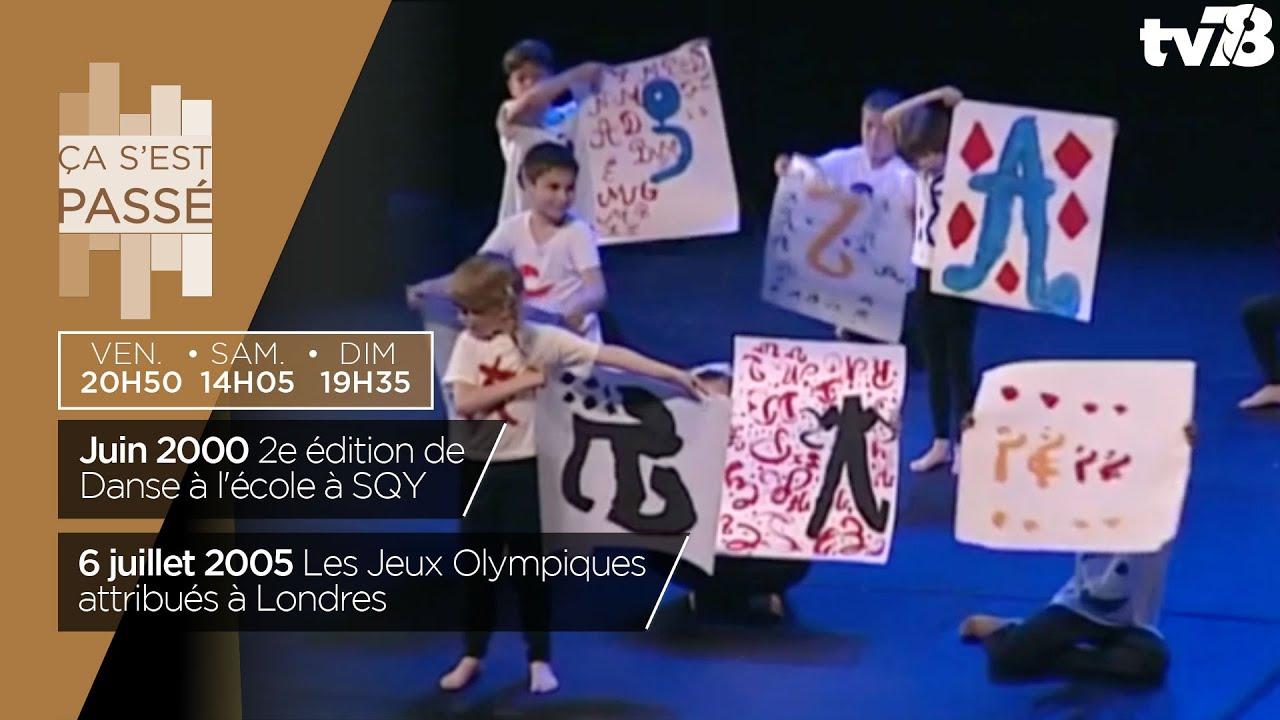 Ça s'est passé… Les débuts de Danse à l'école en 2000 et attributions des JO 2012 à Londres