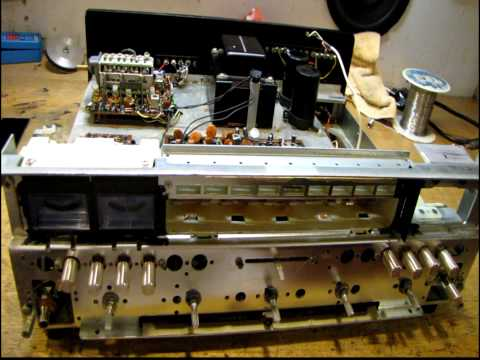 Vintage Marantz 2225 Receiver Restoration Part 1 of 2