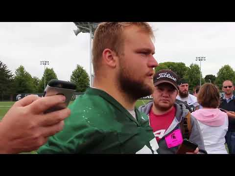 MSU Captain Brian Allen talks new role & state of the team.