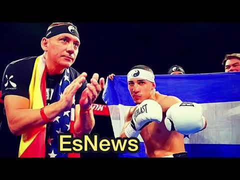 """Teofimo Lopez Dad """"Loma not going past 6 maybe we will end it in 1"""""""