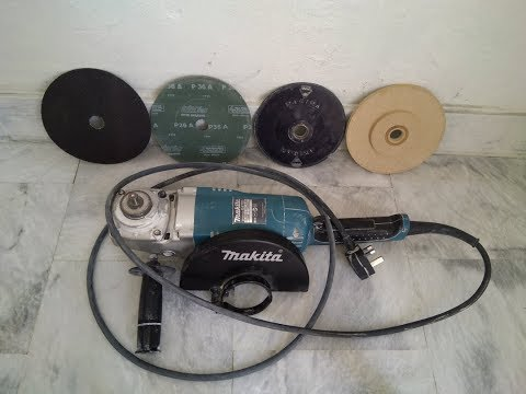 How To Remove Paint From Wall Using An Angle Grinder