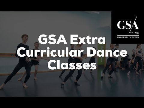 Evening Dance Classes at GSA || Guildford School of Acting