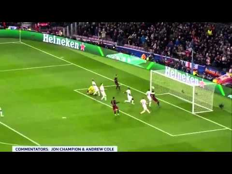 Un gol de Messi contra la Roma fue elegido como el mejor de la temporada pasada
