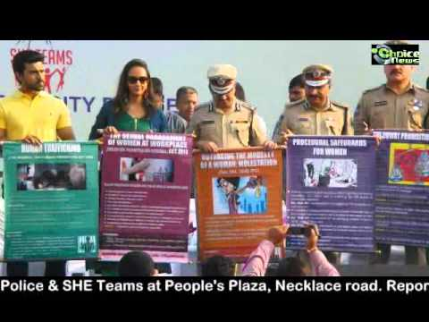 SELF DEFENCE TECHNIQUES & AWARENESS ON LEGAL RIGHTS FOR WOMEN BY HYDERABAD CITY POLICE