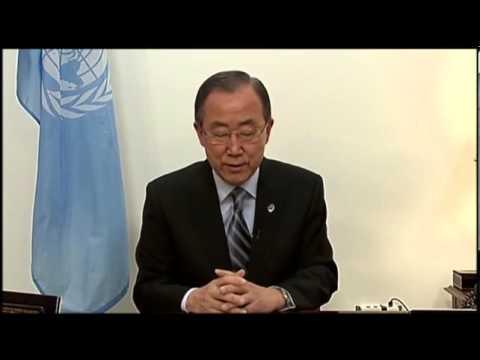 UN Chief Urges Russian Restraint in Ukraine