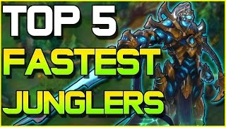 TOP 5 FASTEST JUNGLE CLEARS | League of Legends