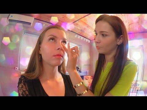 МОЙ КОРПОРАТИВ: макияж, прическа, платье