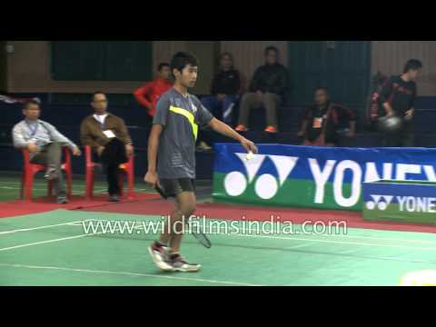Badminton stars of Mizoram, India