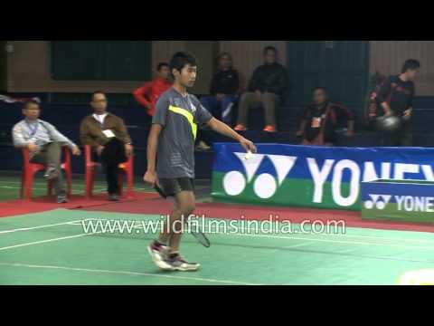 Badminton stars of Mizoram, India