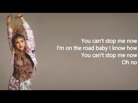 Madonna - Gambler (Lyrics on Screen)