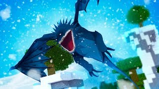 THE LEGENDARY ICE SKRILL! - Minecraft Dragons