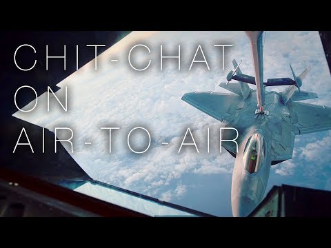 F-22 Pilots And KC-10 Boom Operator Talk Riddles, Jokes, And Chick-fil-A During Air Refueling Ops