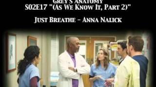 Grey's Anatomy S02E17 - Just Breathe by Anna Nalick
