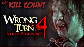 Wrong Turn 4: Bloody Beginnings (2011) KILL COUNT