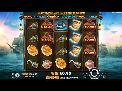 Игровой автомат Pirate Gold (Pragmatic Play)