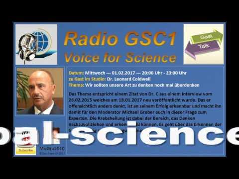 016 - 01.02.2017 - Dr. Leonard Coldwell als Gast bei Radio GSC1