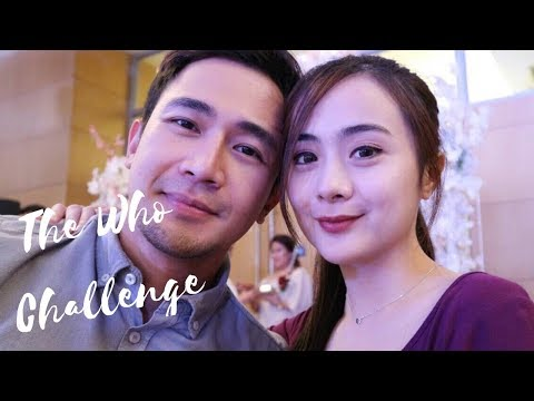 The Who Challenge w/ my Fiancé | Jamey Santiago