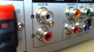 Brancher un appareil à une chaine hifi - branchements audio