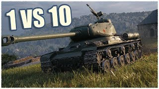 IS-2 • 14 KILLS • 1 vs 10 • WoT Gameplay