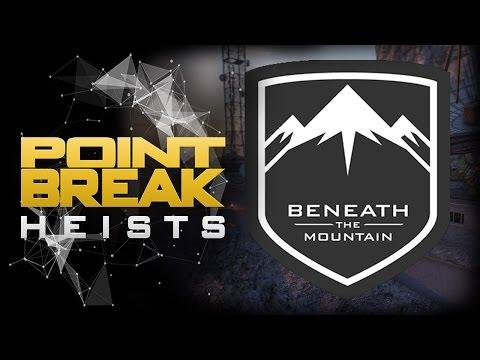 PAYDAY 2 - POINT BREAK HEISTS : BENEATH THE MOUNTAIN OVERKILL - GAMEPLAY ESPAÑOL