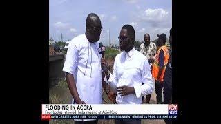 Flood in Ghana - The Pulse on JoyNews (15-4-19)
