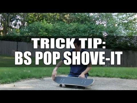 The Ultimate Trick Tip - Pop Shove It / Shove It - How To Pop Shove-It