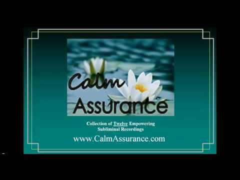 Calm Assurance MP3 Subliminal Collection by Evelyn Brooks