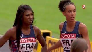 Mondiaux d'athlétisme : Le relais féminin français 4X400m qualifié au temps en finale !