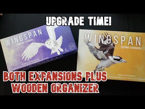 Wingspan Upgrade   Both Expansions   Board Games  