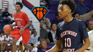 Darius Garland Is An ELITE Passer & Playmaker!! | 2018 Point Guard With HIGH IQ