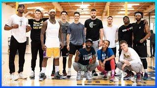 NBA PLAYMAKERS LA SHOOT | VLOG