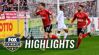 SC Freiburg vs. FC Augsburg | 2019 Bundesliga Highlights