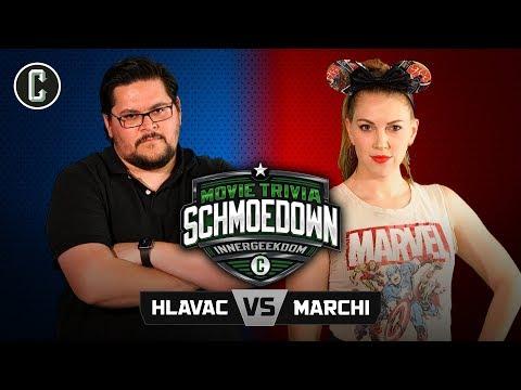 Innergeekdom Tournament! Adam Hlavac VS Keetin Marchi - Movie Trivia Schmoedown