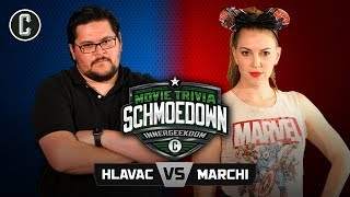 Innergeekdom Tournament! Adam Hlavac VS Keetin Marchi - Movie Trivia Schmoedown