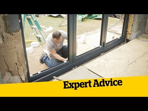 How to Install BiFold Doors: How to Build an Extension (12)