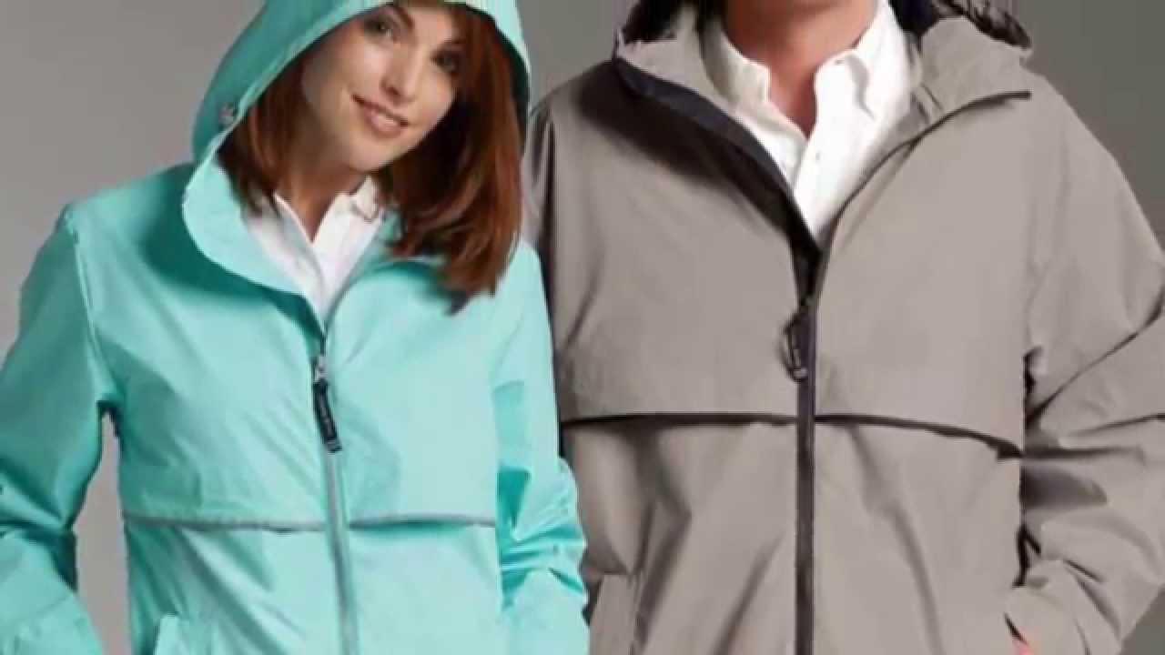 Charles River New Englander Rain Jacket