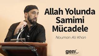Allah Yolunda Samimi Mücadele Nouman Ali Khan [Türkçe Altyazılı]
