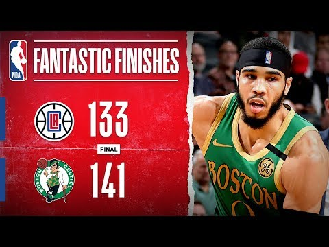 Double-OT THRILLER In Boston Between the Clippers & Celtics   Feb. 13, 2020